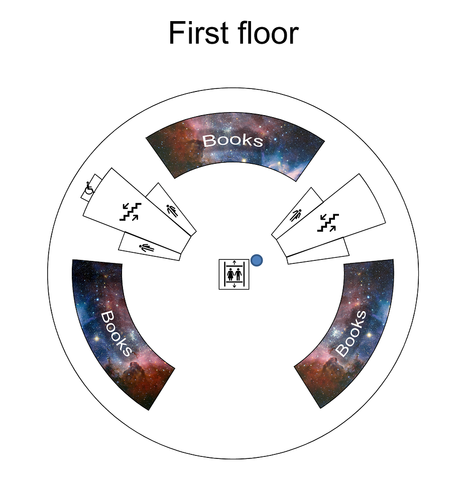 [IMAGE = 1st floor map]